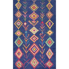 nuloom medallion marlana amethyst 7 ft 8 in x 9 ft 6 in area