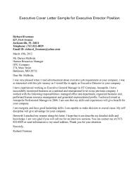 ingenious inspiration executive cover letter 6 sample for vp