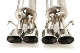 billy boat exhaust c6 corvette chevy c6 corvette fusion axle back exhaust system for factory npp