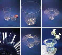 riciclare bicchieri di plastica riciclo creativo delle bottiglie di plastica tante idee creative