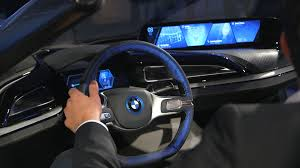 holographic car bmw u0027s insane car of the future replaces dashboards with augmented