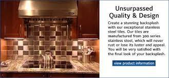 metallic tiles backsplash metal tile co manufacturer of stainless steel aluminum copper