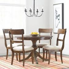 the nook 44 inch round dining room set maple kincaid furniture