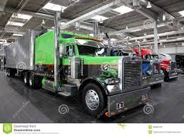 peterbilt show trucks peterbilt show truck editorial stock photo image 26880428