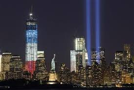 world trade center lights new york lights world trade centre red white and blue pakistan today