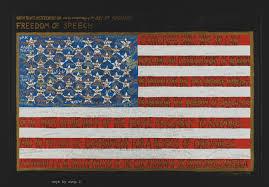 Charlotte Flag Freedom Of Speech Faith Ringgold 2001 288 Work Of Art