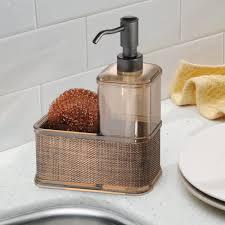 Soap Kitchen Amazon Com Interdesign Twillo Kitchen Soap Dispenser Pump Sponge