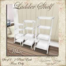 White Ladder Shelves by Small Ladder Shelves Home Design Ideas