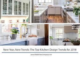 design new kitchen the top kitchen design trends for 2018 new kitchen trends 2018