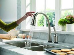 faucet for sink in kitchen delta touch faucet kitchen sinks and faucets faucet