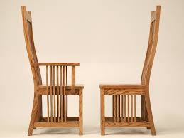 mission oak dining room chairs this 6 mission oak dining chairs is