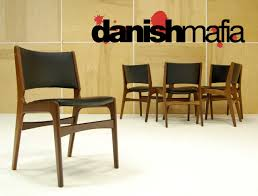 mid century danish modern teak dining complete set table u0026 6