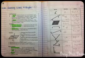 busy miss beebe 2014 2015 geometry inb unit 3 lines u0026 angles
