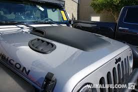 jeep hood vents 2014 sema trail concepts silver jeep jk wrangler unlimited