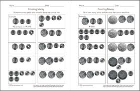 math worksheets coins and bills 2nd grade money worksheets up to