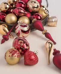 ornaments ornament sets burgundy gold or nt