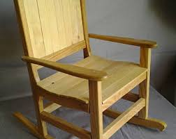 Toddler Rocking Chairs Childs Rocking Chair Etsy