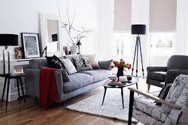Shades Of Grey Living Room Design Ideas Houseandgardencouk - Grey living room design ideas