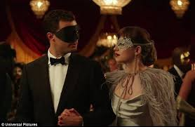 50 shades the scene where christian grey shaves ana s pubic hair fifty shades darker trailer shows masquerade ball scene daily mail
