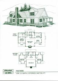 log homes floor plans free