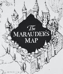 Harry Potter Map Primark Marauders Map T Shirt Harry Potter Womens Ladies Uk Sizes