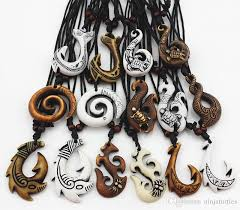 pendant necklace online images Wholesale mixed hawaiian jewelry imitation bone carved nz maori jpg