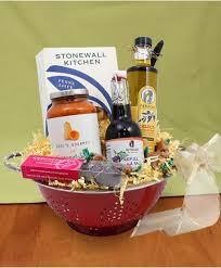 pasta basket colander gift basket