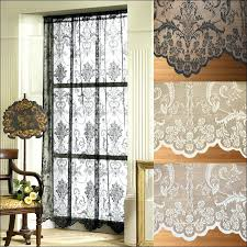 Cafe Style Curtains Walmart Curtains For Bedroom Living Style Spotlight Sheer