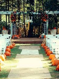 Fall Wedding Aisle Decorations - wedding coordinator atlanta wedding planner atlanta atlanta
