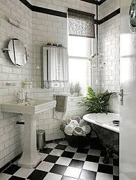 Black And White Bathroom Tile Designs 63 Best 1940 U0027s Bathroom Images On Pinterest Room Bathroom Ideas