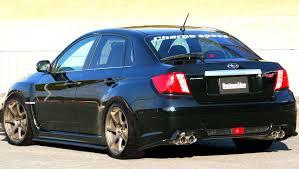 custom subaru hatchback custom subaru impreza wrx sti 4 door chargespeed auto moto