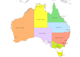 states australia map australia map with states and capital cities arabcooking me