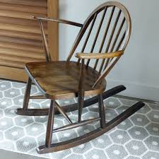 Ercol Windsor Rocking Chair Rocking Chair Pour Enfant Ercol Lignedebrocante Brocante En