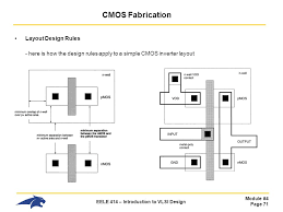 layout design cmos eele 414 introduction to vlsi design ppt download