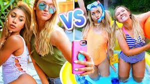 girls in summer now vs then alishamarie youtube alisha marie