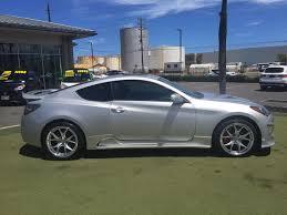 hyundai genesis back pre owned 2014 hyundai genesis coupe 3 8 r spec coupe in kahului