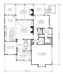 Southern Living Floorplans Braemer Lake Southern Living House Plans