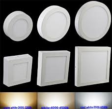 Led Lights Ceiling 6w 12w 18w 24w Led Ceiling Light Surface Mount Square Surface