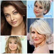 modern haircuts with bangs for round face shapes u2013 haircuts and
