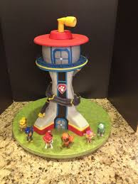 paw patrol lookout cakecentral