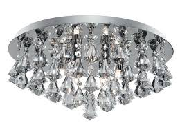 Searchlight Ceiling Lights Searchlight 3306 6cc Flush Ceiling Light Fitting