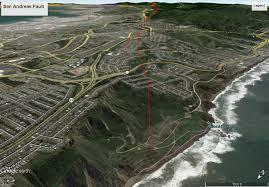 San Andreas Map The San Andreas San Francisco Area Roc Doc Travel