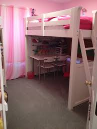 small space solution 5 year old girl s bedroom complete with a room