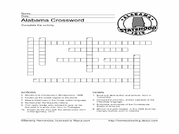 alabama crossword puzzle 4th 6th grade worksheet lesson planet