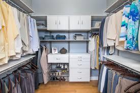organized living bedroom closets