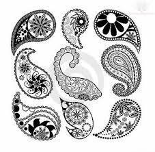 paisley design tattoos very tattoo