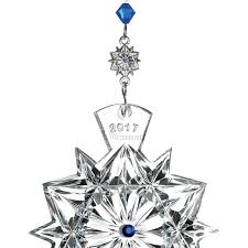waterford snowflake wishes friendship ornament 2017