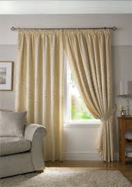 Pencil Pleat Curtains Woven Jacquard Trailing Leaf Pencil Pleat Curtains 9 Sizes
