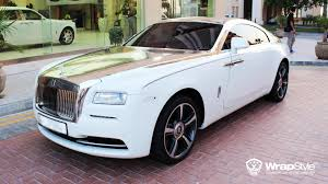 silver rolls royce rolls royce wraith with silver chrome from wrapstyle gtspirit