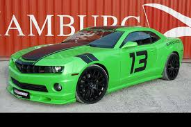 green camaro ss green machine geiger cars boosts the chevrolet camaro ss to